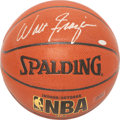 Basketball Collectibles:Balls, Walt Frazier Signed Basketball....