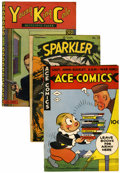 Golden Age (1938-1955):Miscellaneous, Comic Books - Assorted Golden Age Comics Group (Various, 1940s-'50s).... (Total: 38 Comic Books)