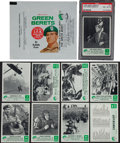 "Non-Sport Cards:Sets, 1967 Philadelphia Gum ""Green Berets"" Complete Set (66) Plus Wrapper. ..."