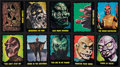 Non-Sport Cards:Sets, 1964 Bubbles, Inc. (Topps) Outer Limits Complete Set (55). ...