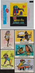 "Non-Sport Cards:Sets, 1966 Fleer ""Weird-Oh's"" Complete Set (66) Plus Wrapper. ..."