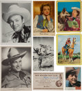Non-Sport Cards:Lots, High End 1940's and '50's Roy Rogers Collectibles Collection (22Items). ...