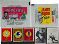 "Non-Sport Cards:Lots, 1960's ""Untouchables"" and ""James Bond"" Cards and WrappersCollection (17 Items). ..."