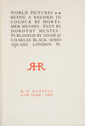 Books:Children's Books, Mortimer Menpes and Dorothy Menpes. World Pictures: Beinga Record in Colour. New York: R. H. Russell, [...