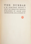 Books:Children's Books, Mortimer Menpes and Dorothy Menpes. The Durbar. London: A.& C. Black, [1903]. Presumed first edition. Octavo. 210 p...