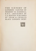 Books:Children's Books, G. E. Mitton. The Scenery of London. London: A. & C.Black, 1905. Presumed first edition. Octavo. 222 pages. Color p...