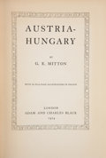 Books:Children's Books, G. E. Mitton. Austria-Hungary. London: A. & C. Black,1914. Presumed first edition. Octavo. 214 pages, folding map. ...