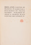 Books:Children's Books, Frank Mathew. Ireland. London: A. & C. Black, [1912].Later edition. Octavo. 214 pages. Color plates by Francis S. W...