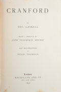 Books:Literature Pre-1900, [Elizabeth] Gaskell. Cranford. London: Macmillan, 1891.Later edition. Octavo. 297 pages. Illustrated by Hugh Thomso...