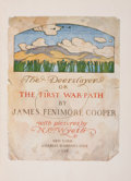 Books:Literature 1900-up, James Fenimore Cooper. The Deerslayer. New York: CharlesScribner's Sons, 1929. Later edition. Octavo. 462 pages. Il...