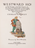 Books:Children's Books, Charles Kingsley. Westward Ho! New York: Charles Scribner'sSons, 1947. Later edition. Octavo. 413 pages. Illustrate...