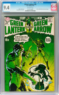 Bronze Age (1970-1979):Superhero, Green Lantern #76 (DC, 1970) CGC NM 9.4 Off-white pages....