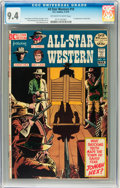Bronze Age (1970-1979):Western, All-Star Western #10 (DC, 1972) CGC NM 9.4 Off-white to white pages....