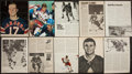 Hockey Collectibles:Photos, Hockey Stars Signed Photographs Lot of 41....