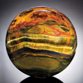 Lapidary Art:Spheres, MARRA MAMBA TIGER'S-EYE SPHERE. ...