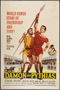 "Movie Posters:Adventure, Damon and Pythias (MGM, 1962). Poster (40"" X 60""). Adventure.. ..."