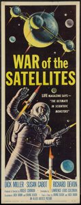 """Movie Posters:Science Fiction, War of the Satellites (Allied Artists, 1958). Insert (14"""" X 36"""").Science Fiction.. ..."""