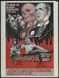 """The Undertaker and His Pals (Geneni, 1966). One Sheet (27"""" X 41""""). Horror"""