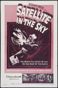 """Satellite In The Sky (Warner Brothers, 1956). One Sheet (27"""" X 41""""). Science Fiction"""