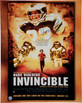Football Collectibles:Photos, Vince Papale Signed Movie Poster....