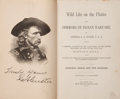 Books:Americana & American History, General G. A. Custer. Wild Life on the Plains and Horrors ofIndian Warfare. St. Louis: Sun Publishing Co., 1883. Ea...