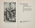 Books:Americana & American History, Katherine Gibson Fougera. With Custer's Cavalry. Caldwell:Caxton Printers, 1942. Second printing. Octavo. 285 pages...