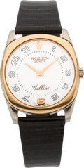 Timepieces:Wristwatch, Rolex Ref. 4233 Two Tone Gold Cellini, circa 1999. ...