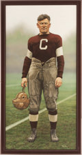 Football Collectibles:Others, 1996 Jim Thorpe Original Artwork by Arthur Miller....