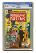 Bronze Age (1970-1979):Humor, Welcome Back, Kotter #1 (DC, 1976) CGC NM 9.4 Off-white pages. ...