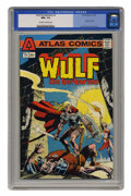 Bronze Age (1970-1979):Superhero, Wulf the Barbarian #1 (Atlas-Seaboard, 1975) CGC NM+ 9.6 Off-white pages. ...