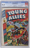 """Golden Age (1938-1955):Superhero, Young Allies Comics #3 Davis Crippen (""""D"""" Copy) pedigree (Timely, 1942) CGC VG 4.0 Cream to off-white pages...."""
