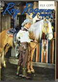 Golden Age (1938-1955):Western, Roy Rogers Comics #13-24 Bound Volume(Dell, 1949) ....