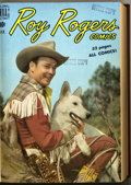 Golden Age (1938-1955):Western, Roy Rogers Comics #25-36 Bound Volume (Dell, 1950) ....