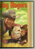 Golden Age (1938-1955):Western, Roy Rogers Comics #61-72 Bound Volume (Dell, 1953)....