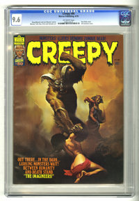 Creepy #80 (Warren, 1976) CGC NM+ 9.6 Off-white pages