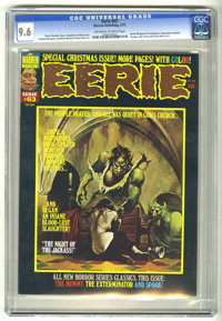 Eerie #63 (Warren, 1975) CGC NM+ 9.6 Off-white to white pages