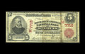 National Bank Notes:Missouri, Saint Louis, MO - $5 1902 Red Seal Fr. 587 The Mechanics-AmericanNB Ch. # (M)7715. ...
