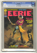 """Bronze Age (1970-1979):Horror, Eerie #68 (Warren, 1975) CGC NM 9.4 Off-white to white pages. """"MuckMonster"""" story by Berni Wrightson, precursor to Wrightso..."""