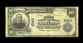 National Bank Notes:Kansas, Elk City, KS - $10 1902 Plain Back Fr. 625 The First NB Ch. # 8145. The census reports just three $10 Plain Backs from t...