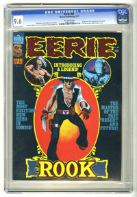 Eerie #82 (Warren, 1977) CGC NM+ 9.6 Off-white pages. Origin and first appearance of the Rook. Luis Bermejo and Bill DuB...