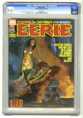 Magazines:Horror, Eerie #114 (Warren, 1980) CGC NM+ 9.6 White pages. Manuel Sanjulian cover. Victor de la Fuente stories and art. This is curr...