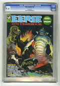 Magazines:Horror, Eerie Yearbook #1970 (Warren, 1970) CGC NM 9.4 Off-white pages. ...