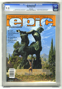Epic Illustrated #9 (Marvel, 1981) CGC NM/MT 9.8 White pages. Jim Starlin interview. Weirdworld begins. Conclusion of Me...