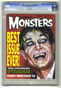 Magazines:Horror, Famous Monsters of Filmland #200 (Warren, 1993) CGC NM+ 9.6 White pages. 35th Anniversary issue. First Dynacomm issue. Exten...