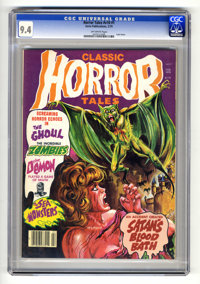 Horror Tales V10#1 (Eerie Publications, 1979) CGC NM 9.4 Off-white pages