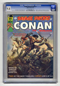 Magazines:Miscellaneous, Savage Sword of Conan #1 (Marvel, 1974) CGC NM/MT 9.8 Off-white towhite pages. Origin and first appearance of Blackmark by ...