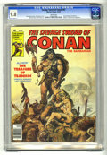 Magazines:Superhero, Savage Sword of Conan #47 (Marvel, 1979) CGC NM/MT 9.8 White pages....