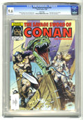 Magazines:Superhero, Savage Sword of Conan #107 (Marvel, 1984) CGC NM+ 9.6 White pages....