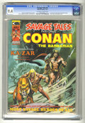 Magazines:Superhero, Savage Tales #5 (Marvel, 1974) CGC NM 9.4 Off-white to white pages....