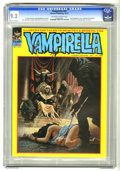 Magazines:Horror, Vampirella #20 (Warren, 1972) CGC NM- 9.2 Off-white to white pages. T. Casey Brennan and Doug Moench stories. Dracula appear...